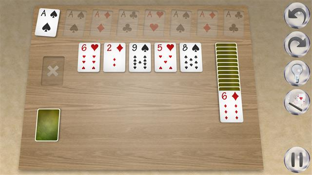 how to play double solitaire with two decks